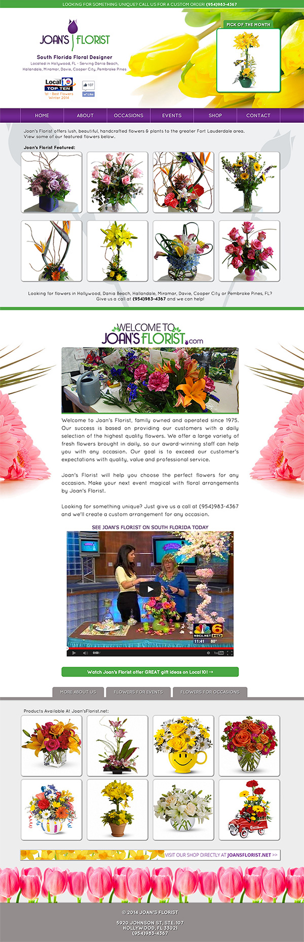 joans-florist-website-design